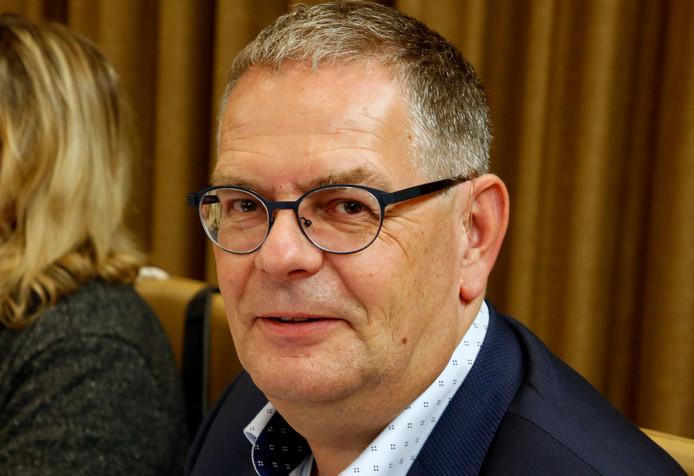 """Wethouder Jurgen Vervaet zag dat publieke tribune tijdens de raadscommissie over de reorganisatie van de huishoudelijke hulp in Terneuzen vrijwel leeg bleef. ,,Een goed teken."""""""