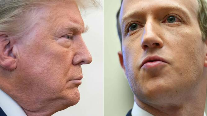 Kransje van 20 dikbetaalde juryleden beslist over Trumps eventuele comeback op Facebook