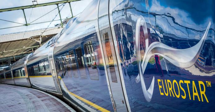 De Eurostar tussen Amsterdam, Rotterdam en Londen blijkt een groot succes.
