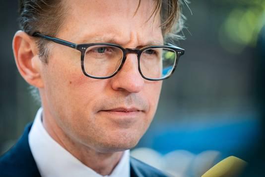 Minister Sander Dekker van Rechtsbescherming (VVD).