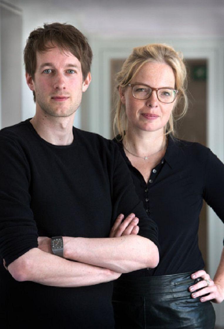 Daan Weggemans en Beatrice de Graaf, de auteurs. Beeld Werry Crone