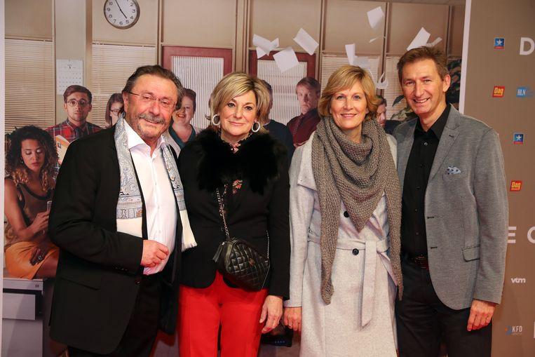 Marijn Devalck en partner Ilse - Ben Rotiers en partner An