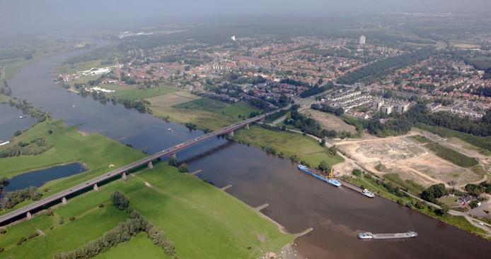 De Rijnbrug bij Rhenen en Kesteren.