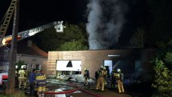 VIDEO. Cannabisplantage ontdekt na brand in loods