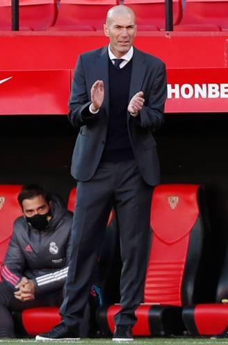 """Overtuigend was het wéér niet, maar Zidane redt (voorlopig) z'n vel na winst bij Sevilla: """"Het zijn moeilijke dagen geweest"""""""