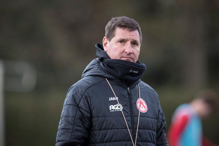 Training Glen De Boeck bij KV Kortrijk.