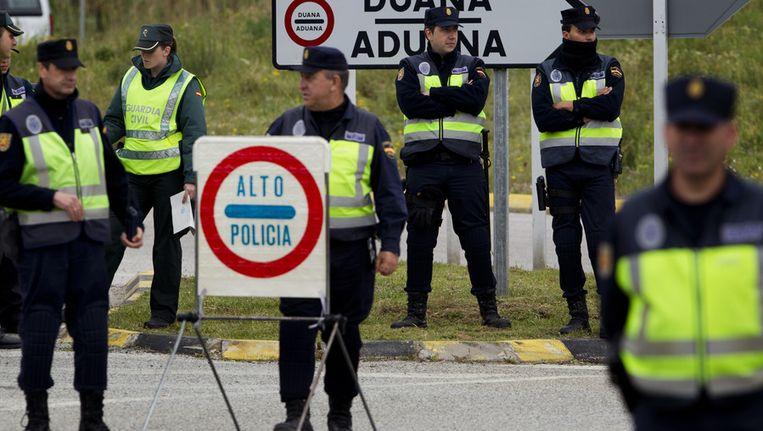 Tijdelijke grenscontroles op de grens tussen Spanje en Frankrijk Beeld ap