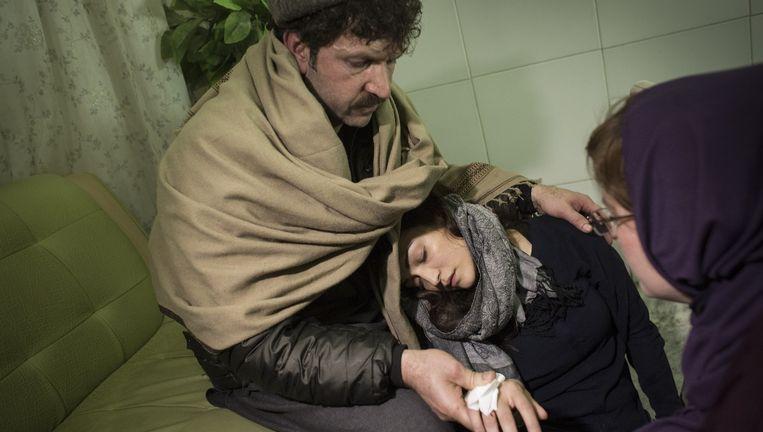 Tinkebell over de zaak Amiri: 'Ik geloofde niet in een toneelstukje van Tamana en haar vader' Beeld Joel van Houdt
