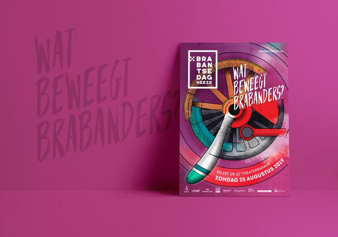 Poster Brabantsedag 2019.