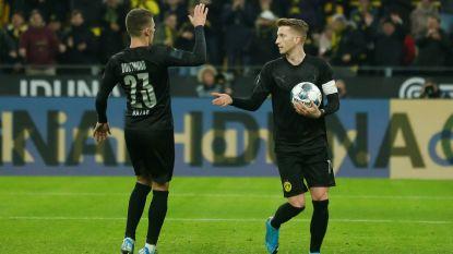 Dortmund maakt brandhout van Düsseldorf, ook Hazard pikt doelpuntje mee