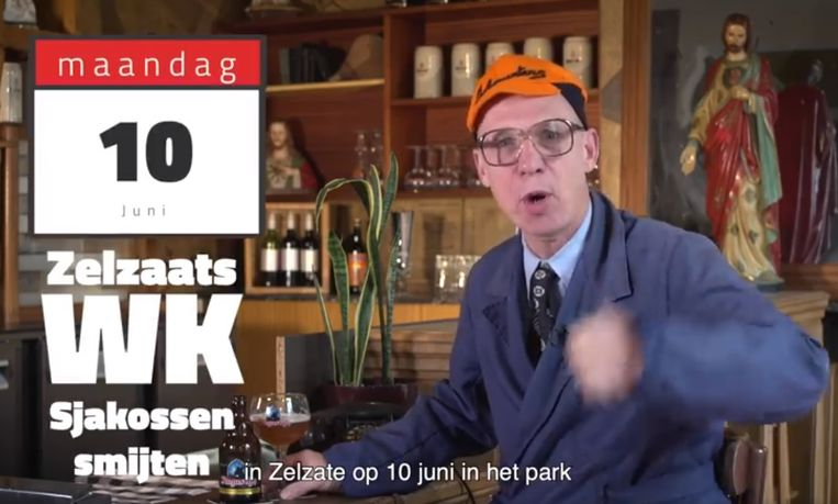 Guust, het alterego van comedian Joost Van Hyfte.