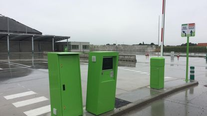 Containerpark ingehuldigd met frietjes