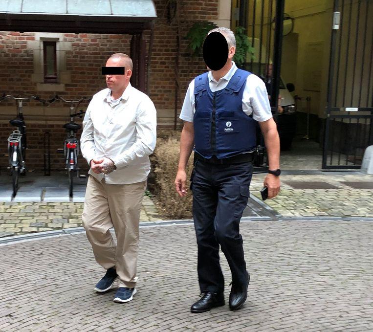 John L., verdachte voor de moordpoging op kippenboer Nick Leemans