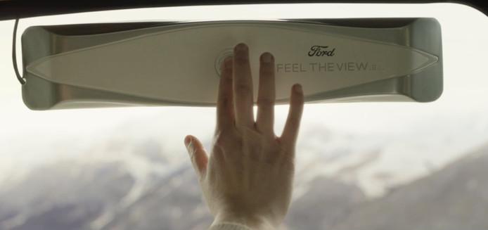 Feel The View: de slimme autoruit van Ford