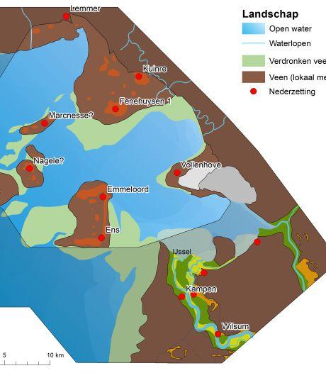 Maritiem archeoloog brengt vier in Zuiderzee verdronken middeleeuwse nederzettingen in beeld