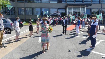 """Cecile neemt na 41 jaar dienst afscheid van DVC Heilig Hart: """"Duizenden mensen aan een job geholpen"""""""