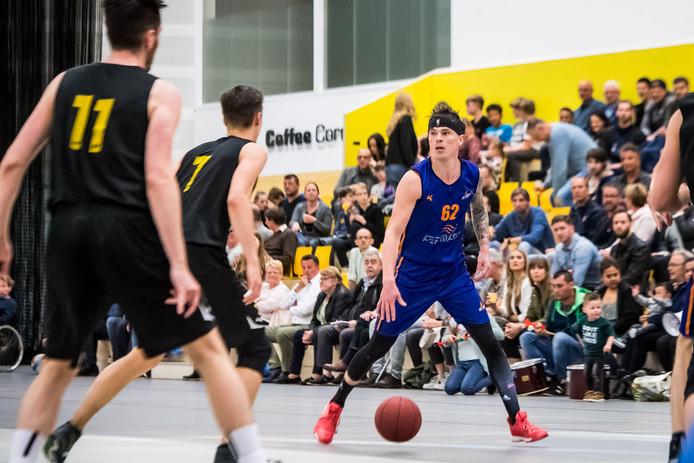 TT-2019-010629 - ALMELO - Basketbal, mannen: Uitsmijters-Eagles. Allesbeslissende promotiewedstrijd voor Uitsmijters. EDITIE: SPORT FOTO: Lars Smook LS20190511