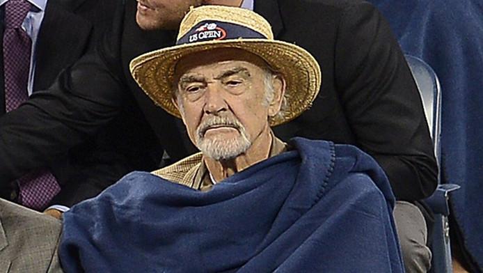 Sean Connery bij de US Open vorig jaar.