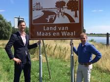 Toerist kan Maas en Waal niet missen