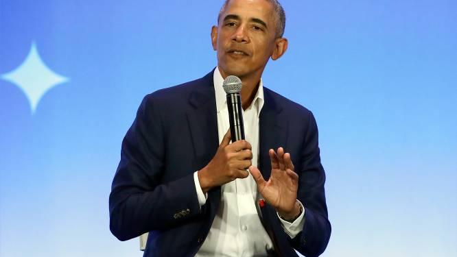 """Obama over """"bezorgdheid"""" vier jaar geleden over waardige invulling presidentsambt door Trump: """"Het was nog erger"""""""
