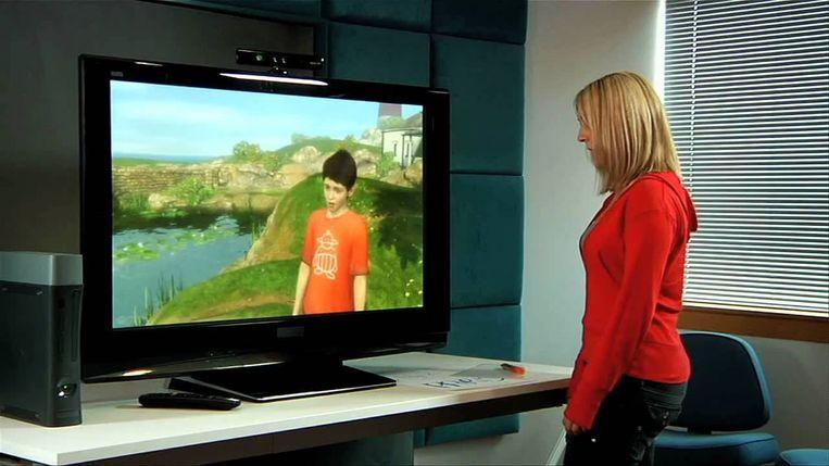 Project Milo kwam nooit verder dan een technologische demonstratie voor Kinect, de spraak- en bewegingssensor voor de Xbox 360. Beeld YouTube