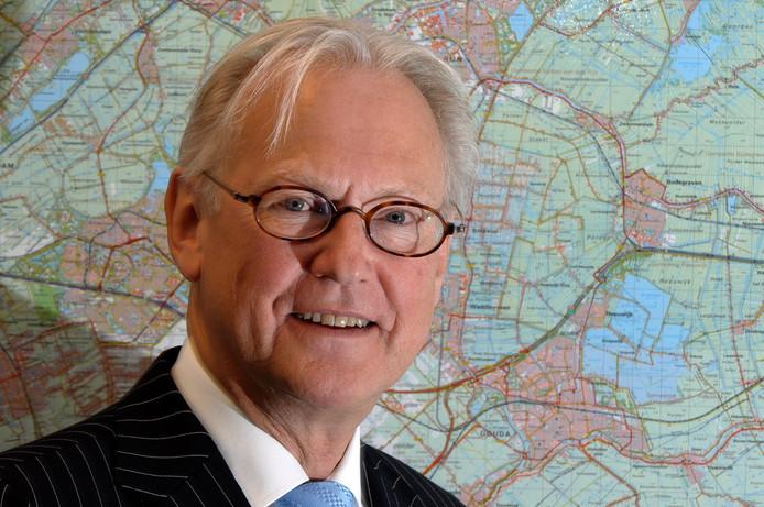 Waarnemend burgemeester Jan Pieter Lokker.