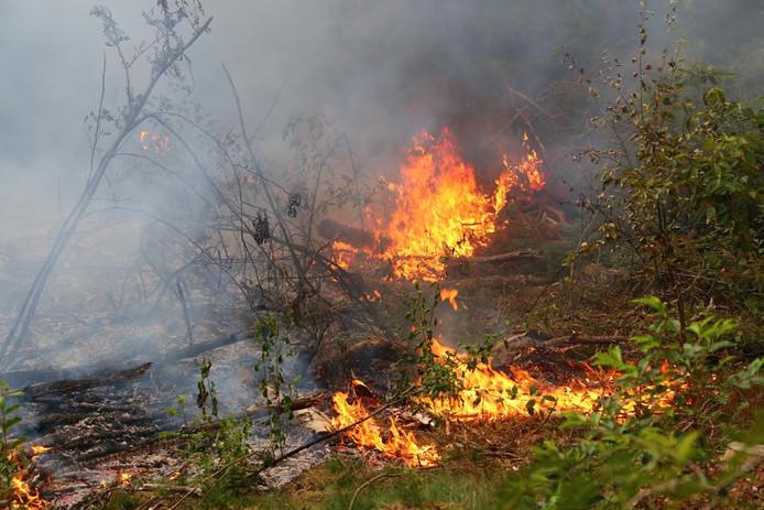 Een van de twee branden in Oss