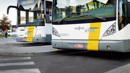 Lichtgewonde bij ongeval met Lijnbus
