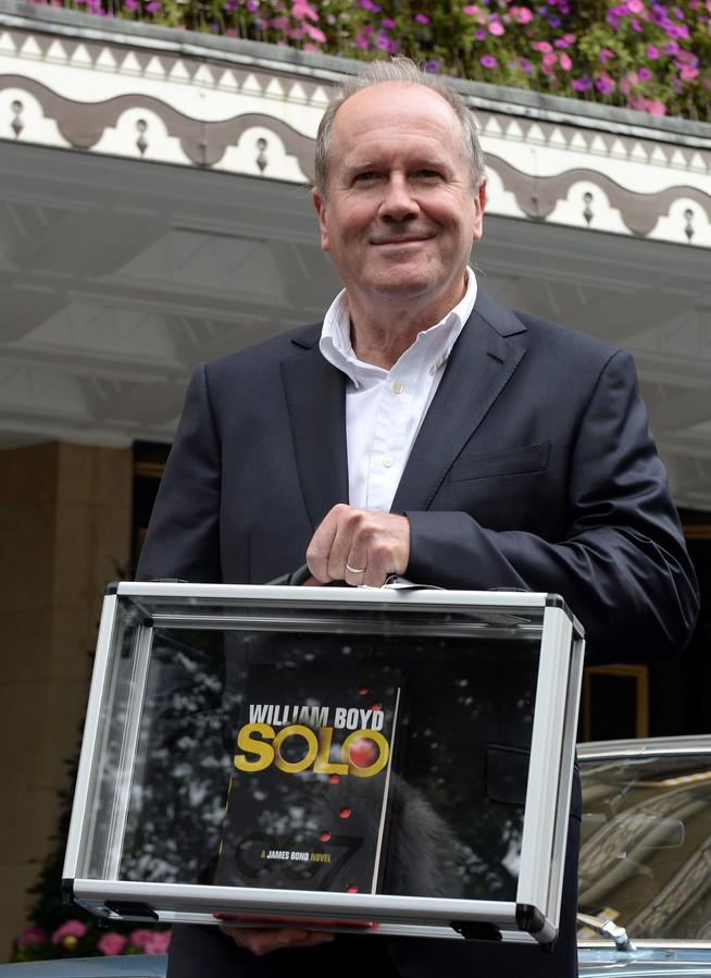 William Boyd en 2013