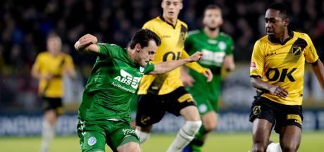 De Graafschap en NAC Breda halen topper op woensdag 11 november in; De Graafschap-Cambuur op donderdag 19 november