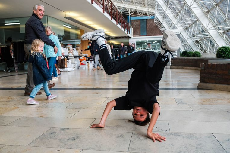 Breakdancer Seth Tielemans.