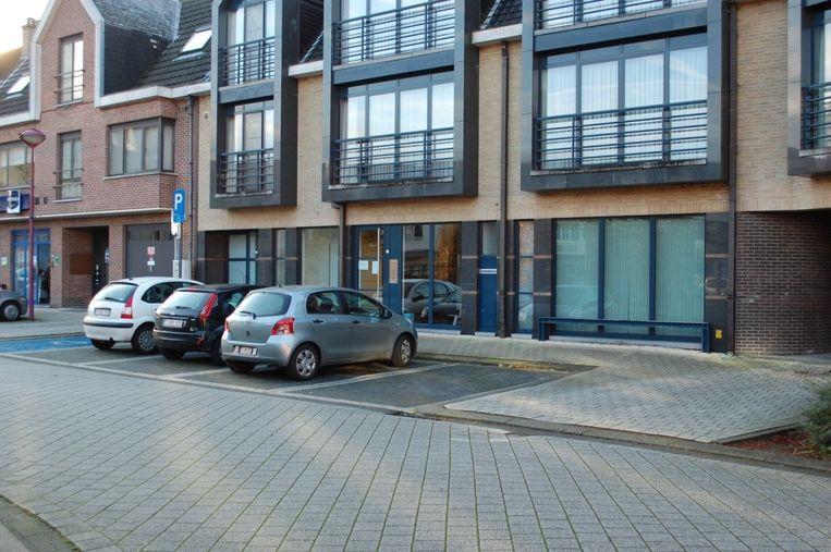 Het gebouw van het vredegerecht aan het Fonteinhof in Zele.