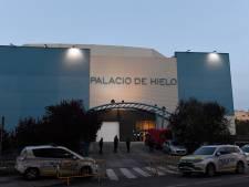 Une patinoire transformée en morgue à Madrid