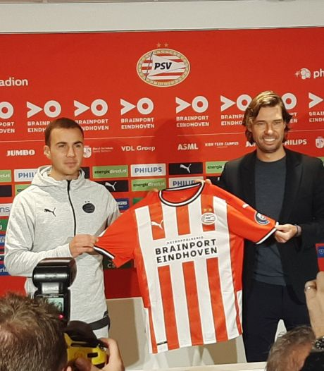 Kijk hier de presentatie van Götze en Fein bij PSV terug