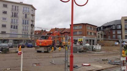 Volgende fase voor het Gemeenteplein: opbreken en uitgraven
