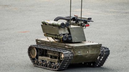 Defensie vertoont interesse voor gevechtsrobot ondanks verbod op killerrobots