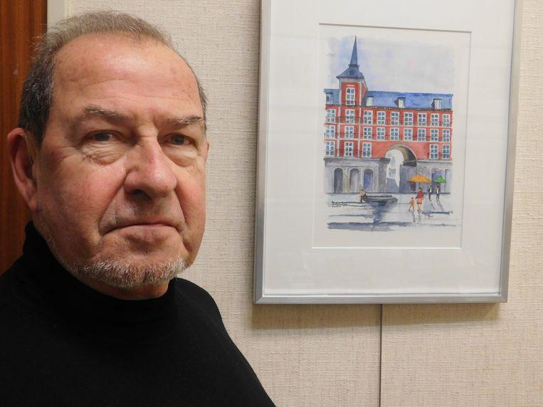 Tot eind februari vindt in de bibliotheek een tentoonstelling plaats met aquarellen van Willy De Ville.