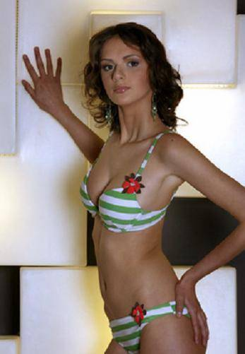 Anastasia Kazakova.