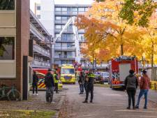 Hulpdiensten massaal aanwezig voor incident in  flatwoning Soest