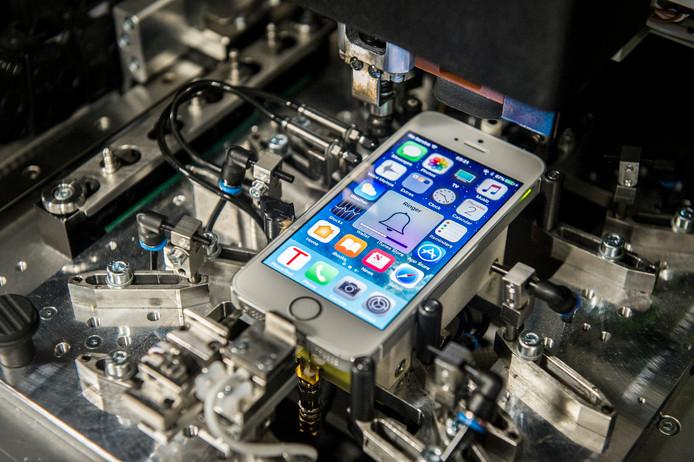 De refurbish-robot van Leapp concurrent Forza.