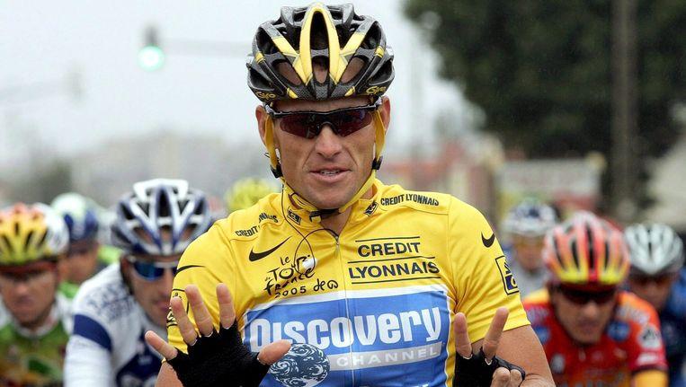 Lance Armstrong, gevallen sportheld.