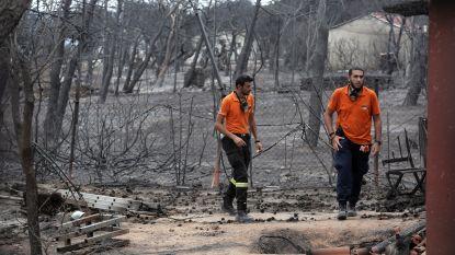 Dodentol stijgt naar 88 na bosbranden in Griekenland