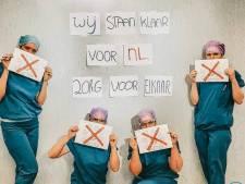 OK-personeel Ziekenhuis Rivierenland deelt foto in strijd tegen corona