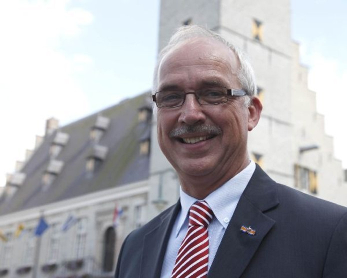 Burgemeester Jan-Frans Mulder.