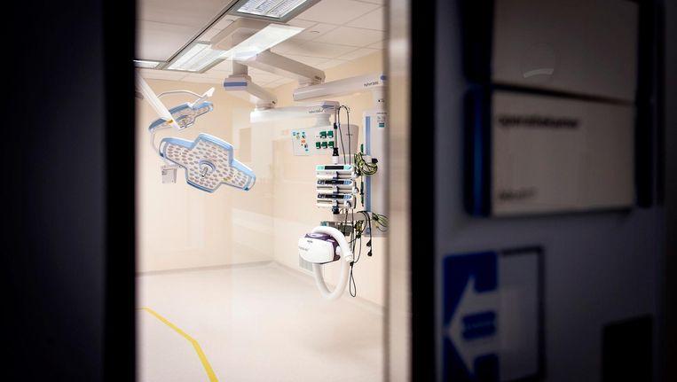 De veiling van de operatiekamers sluit aanstaande dinsdag. De derde veiling met spullen uit de poliklinieken begint volgende week. Beeld anp