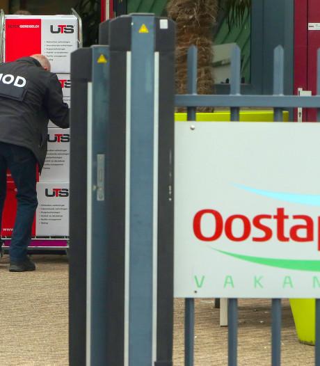 Arbeidsmigranten illegaal gehuisvest op vakantieparken Oostappen Groep, administratie in beslag genomen door FIOD