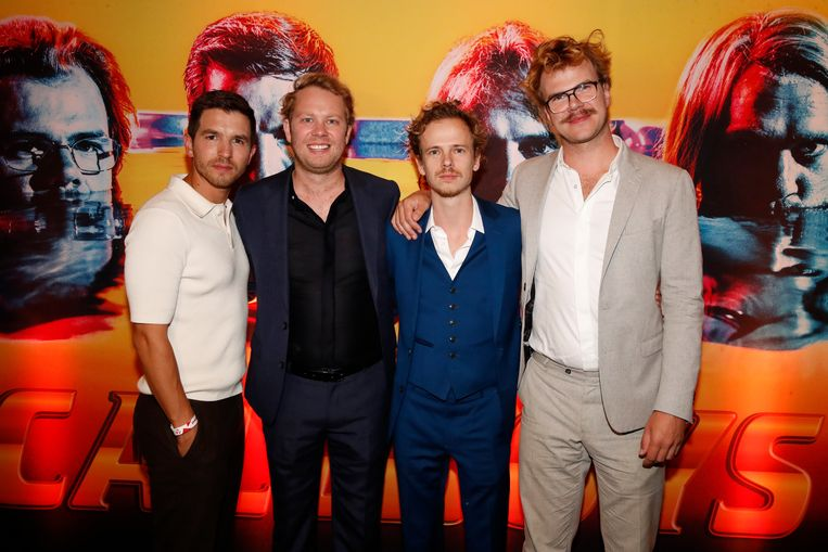 Premiere - Callboys  Matteo, Rik, Stef en Bart.