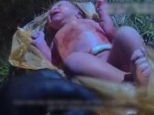 Levend baby'tje gevonden in vuilniszak: navelstreng zat er nog aan