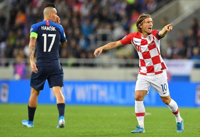 Luka Modric staat er met Kroatië goed voor.
