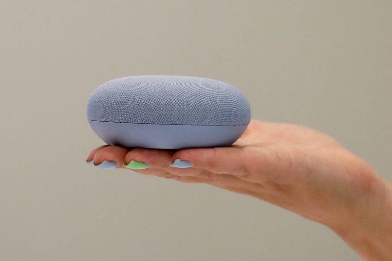 Een slim speakertje van Google Beeld AP
